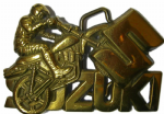 SUZUKI MOTORCYCLE BELT BUCKLES